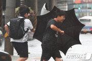 [날씨]6일 프란시스코, 남부에 최대 200㎜비…중부 폭염 '서울 37도'