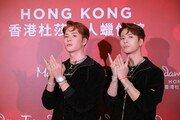 '갓세븐' 잭슨 왁스인형, 홍콩 마담투소 박물관에 섰다