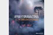 아마존 대형 화재, 3주 째 진행 中…2700㎞ 떨어진 상파울루까지 영향 '심각'