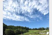 [날씨]24일 한풀 꺾인 더위…전국 가끔 구름 많고 일부 소나기