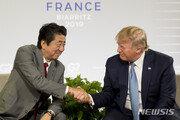 트럼프와 아베, 북한 미사일 발사 심각성 판단에 이견