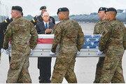 아프간 전사 미군 유해 귀환