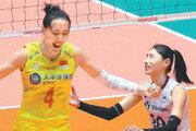 일본 2진급에 안방서 진 충격 딛고 女배구, 중국 꺾고 亞선수권 銅