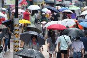 [날씨] 27일 전국 대부분 낮 30도 미만…곳곳 빗방울