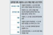 """서울대, 제자 성추행의혹 교수 해임… 학생들 """"파면을"""""""