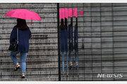 [날씨]3일 전국 곳곳 빗방울…남부지방 시간당 30㎜ 이상 강우