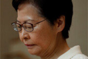 """기업인들 만난 캐리 람 """"中, 홍콩에 軍 투입 계획 전혀 없다"""""""