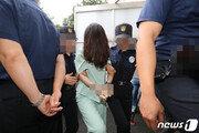 '커튼 머리' 고유정 막는다…경찰 '머그샷' 검토