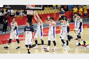 한국 남자 농구 대표팀, B조 최하위…중국·코트디부아르와 순위 결정전