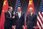 美중, 10월 초 워싱턴서 고위급 무역협상 재개 합의…이달 실무협의