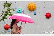 [날씨]11일 중부 시간당 최대 50㎜ 폭우…경북 30도 늦더위 지속
