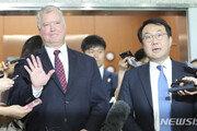 """이도훈-비건 북핵수석협의…""""비핵화 실질 진전방안 논의"""""""