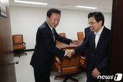 한국-바른미래, 조국 고리로 보수통합 추진할까?