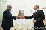 푸틴·네타냐후, 12일 정상회담…'시리아서 군사협력 논의'