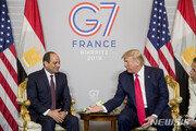 """트럼프, 이집트 대통령에 """"내가 제일 좋아하는 '독재자'"""""""