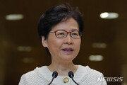 """홍콩 행정수반, 친중파 향해 """"사법부 공격 멈춰라"""""""
