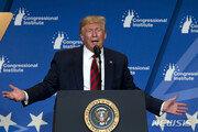 """트럼프 """"동맹이 더 나빠""""…방위비 분담금 협상 앞두고 연일 때리기"""