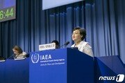 """""""후쿠시마 오염수 문제 공론화""""…韓·日 IAEA 외교전 격돌"""