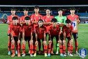 한국 U-16 여자 대표팀, AFC 챔피언십 중국과 1차전 0-2 패