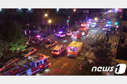 美 백악관 코앞에서 '총격' 6명 사상…용의자 도주