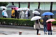 """[날씨] 전국 곳곳 비소식 후 밤부터 기온 뚝…""""일부 돌풍 주의"""""""