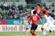 '오세훈 결승골' 김학범호, 우즈벡에 3-1 역전승…정우영 1도움