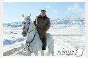 '백두혈통' 상징 백마 탄 김정은…비핵화 중대결정 임박했나