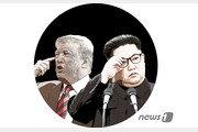 백마 탄 김정은 '백두산 압박'에 美 '체제보장 논의' 화답