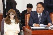 """'리얼돌' 국감장에 등장…이용주 의원 """"산업적 가치 검토해야"""""""