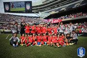 도쿄 길목에서 여자축구 남북 맞대결 성사
