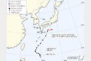 태풍 너구리, 일본 부근서 소멸…부알로이는 접근 중