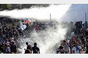 '지하철 요금 50원 인상' 반대 시위 확산… 칠레 국가 비상사태 선포