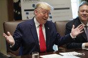 """트럼프 """"한미FTA 개정, 생각 보다 훨씬 더 좋게 돼…美에 환상적"""""""