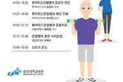 중앙대병원, 11월 1일 '류마티스관절염' 건강강좌 개최