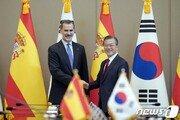 """文대통령, 스페인에 """"디지털경제·친환경 에너지"""" 협력 제안"""