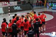 한국 남자핸드볼, 사우디 꺾고 올림픽 아시아 예선 결승 진출