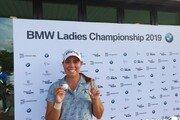 크리스틴 길먼, LPGA BMW 레이디스 챔피언십 첫 홀인원 주인공
