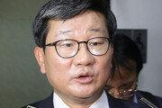 """강기정 靑수석 만난 전해철 """"법무장관 가능성 많이 없어져"""""""