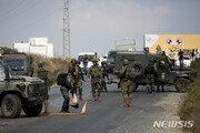 """이스라엘, 하마스 거점 공습…""""10발 로켓 공격에 대응"""""""