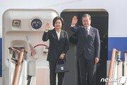 文대통령, 태국 총리 주최 만찬 참석…아베 등 각국 정상 한자리