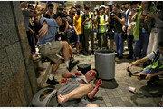 성난 홍콩시민, 백색테러 응징