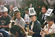 시진핑, 람 만날때 공안부장 배석… 강경진압 예고
