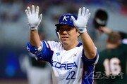 '국대 김현수' 8개 국제대회 연속 타점 금자탑