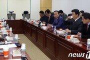 """한국당 재선 """"패스트트랙 통과 시 의원직 총사퇴 당론 제안"""""""