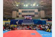 해외 한국대사관서 예선 치른 태권도 선수, 무주에서 '세계 결선'