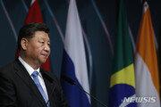 """시진핑, 국제무대서 이례적 홍콩 언급…""""공산당 개입 임박"""""""