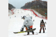 돌아온 스키시즌… 전국에 '독감 주의보'
