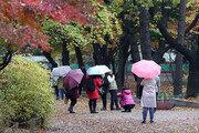 [날씨]일요일 종일 비, 월요일 정오까지…일부 천둥·번개