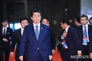 """아베, 공공행사 사유화 논란에 지지율↓…""""日정부 위기감"""""""