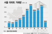 부동산 시장 '동맥경화'…서울 아파트 거래 '급감'